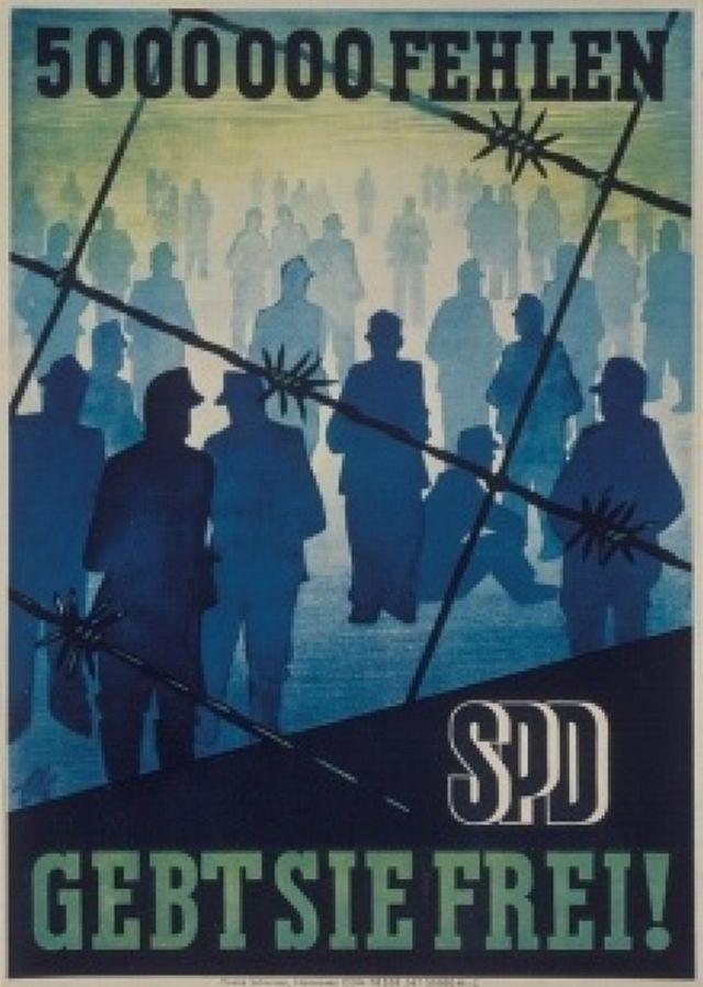SPD-Plakat fordert die Entlassung