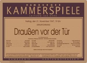 Programm-Ankündigung 1949