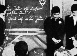 Jüdische Schüler wurden im Unterricht gedemütigt