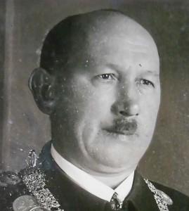 Vereinsführer Ernst Geißendörfer