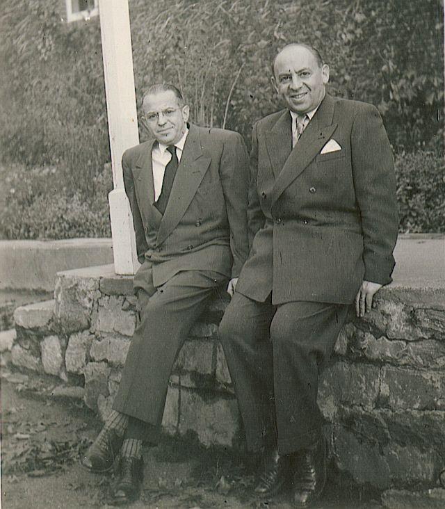 Brüder Ivan und Bruno (re.) Westheimer