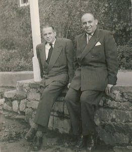 Ivan undn Bruno Westheimer (v.l.)