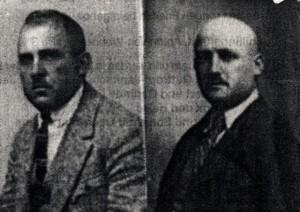 Die Brüder Siegfried und Emil Steinberger