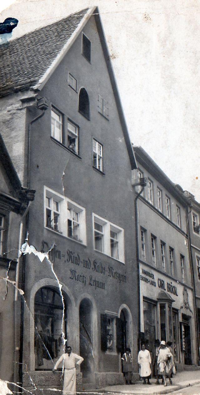 Metzgerei Lehmann (nach 1938: Wildermann)