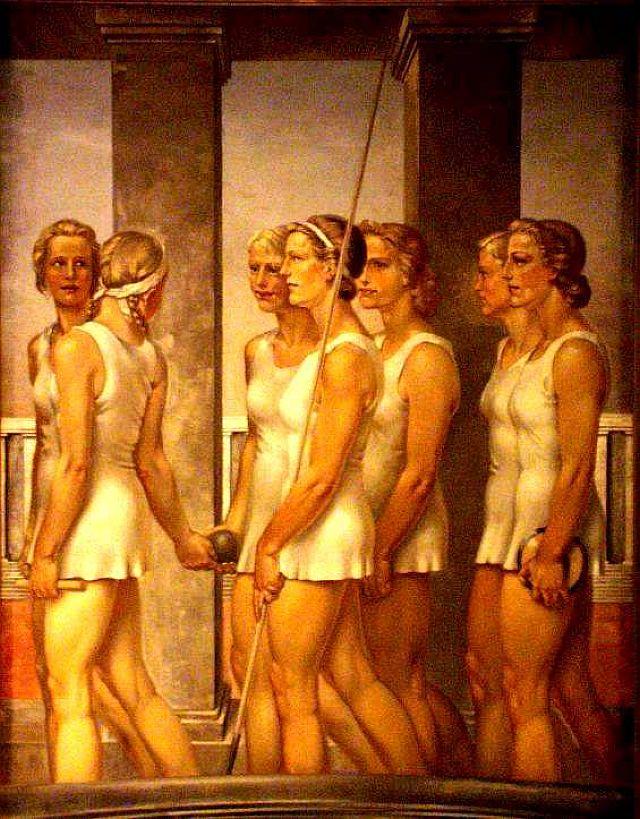 Plakat des NS-Frauensports