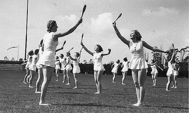Sport und Schönheit im NS-Frauensport