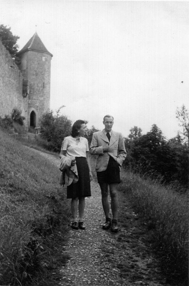 Die Eltern in Rothenburg