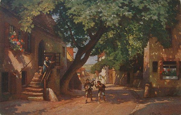 Das Elternhaus in Der Judengasse, wie es früher einmal war