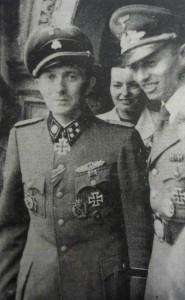 Hermann Buchner (l.) mit Kreisleiter Erich Höllfritsch
