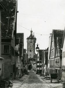 Der Betrieb Kann auf der rechten Seite um 1890