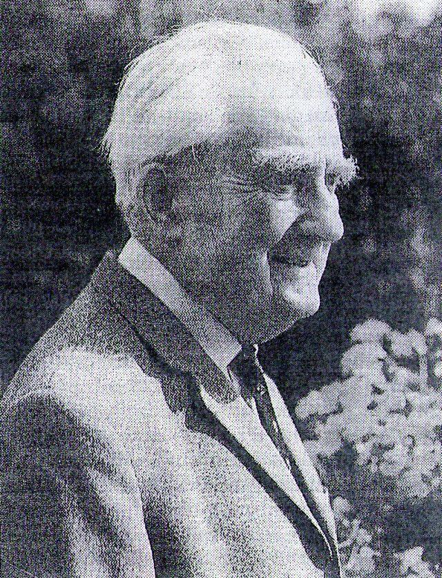 """Friedrich Mägerlein; Foto entn. """"Die LInde"""" 1994"""