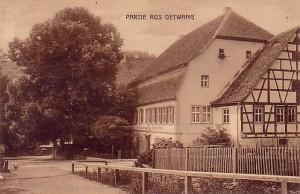 """Zum schwarzen Lamm"", Friedles Elternhaus in Detwang"