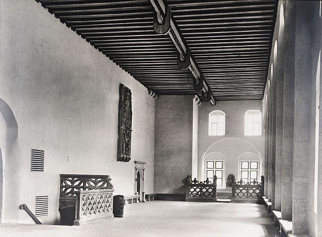 Der 1934 renovierte Kaisersaal,Tagungsstätte der Gesellschaft für fränkische Geschichte 1934 in Rothenburg