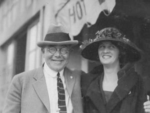 John Friedle mit seiner 1. Frau Elsie
