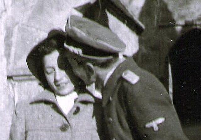 Fritz Gehringer und seine Braut Irma Schlör
