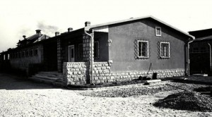 Bordell-Baracke im KZ Mauthausen
