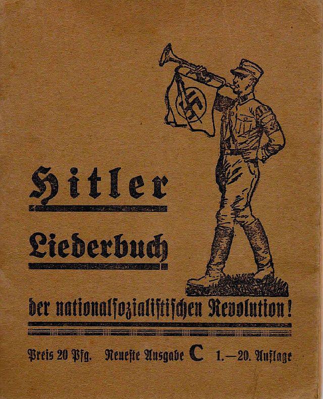 MS-LIederbuch vor 1933