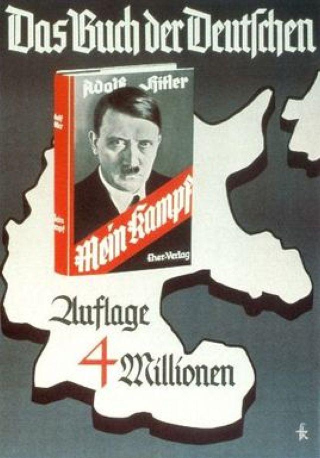 Werbeplakat aus der NS-Zeit