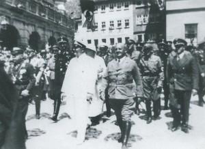 Göring und Streicher in Rothenburg, 1946 wurden beide hingerichtet