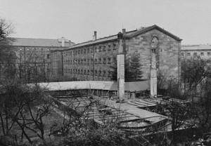 Zellengefängnis in Nürnberg 1948