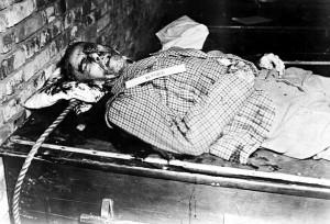 Einer der Hingerichteten: Ex-Reichsminister Wilhelm Frick