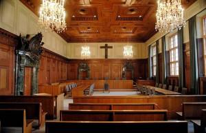 Sall 600 in Justizpalast Nürnberg heute