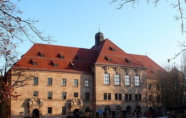 Nürnberger Justizpalst heute