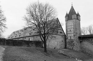 Rothenburger Reichsstadthalle mit Stöberleinsturm