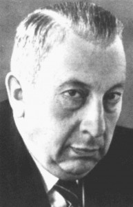 CSU-Justitminister Josef Müller