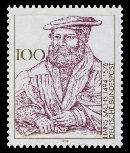 Hans Sachs-Briefmarke 1994