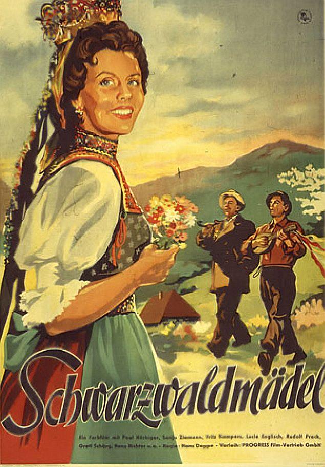 """""""Schwarwaldmädel"""" von 1950"""