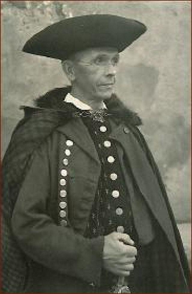 Oberschäfer Theodor Schletterer