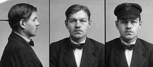 Der Täter Albrecht Hoehler (Polizeifotos 1930)