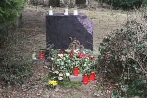 Grab nach der Wiedervereinigung 1990