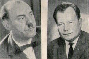 Leonhard Kerndter, Arnold Rösch (v. l.)