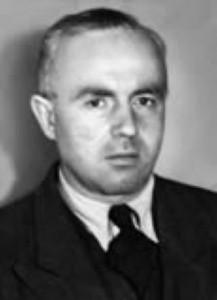 Herausgeber August Haußleiter  um 1950