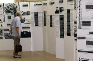 Thilo Pohles Ausstellung über die Brettheimer Ereignisse