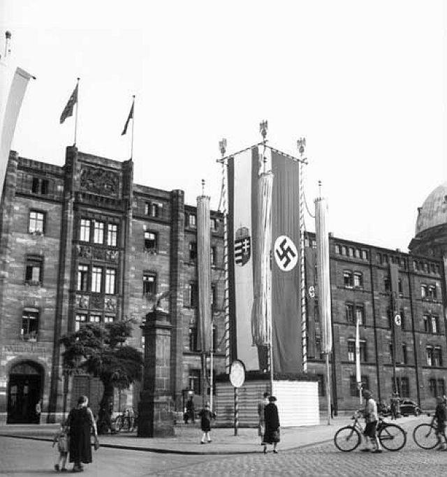 Amtssitz des Nürnberger Polizeipräsidenten