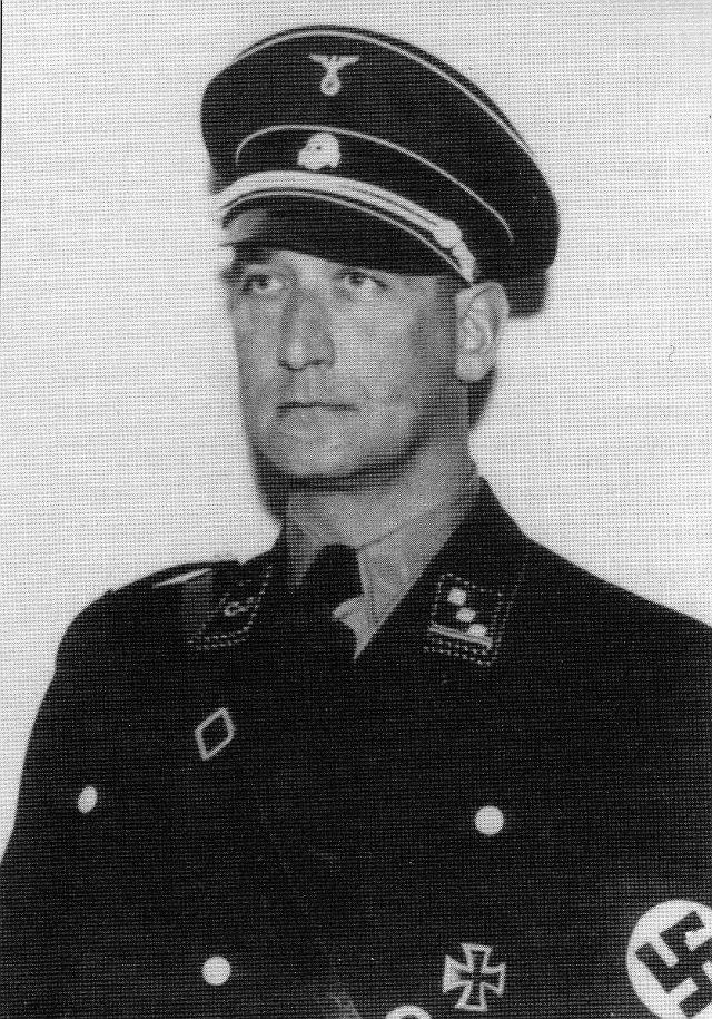 Hauptangeklagter: NS-Polizeipräsident Dr. Benno Martin