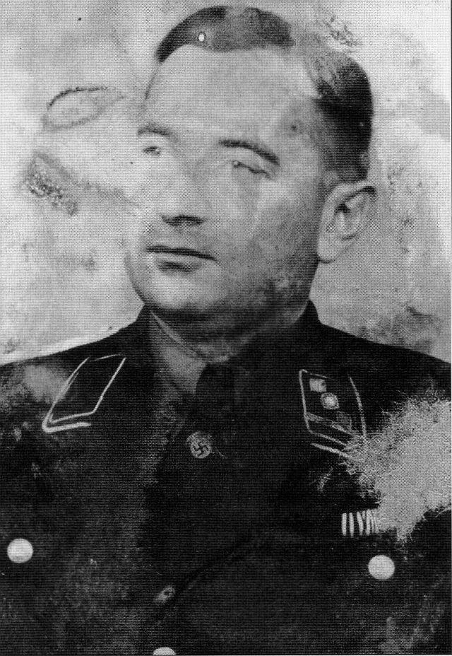 SS- und Polizeiführer Dr. Theodor Grafenberger