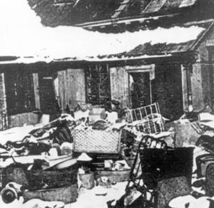 So sah das Ghetto von Riga aus, als die Deportierten ankamen