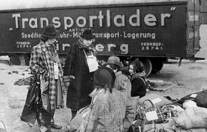 Sammelstelle am Märzfeld in Nürnberg ins KZ Izibca