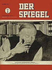 Muschler 1946, Spiegel-Titel