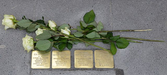 Stolpersteine in Rothenburg ob der Tauber